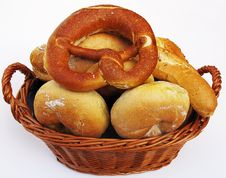 Free Pretzel, Bagel, Danish Pastry, German Food Royalty Free Stock Photos - 119961348