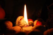 Free Candle, Lighting, Flame, Darkness Stock Photography - 119961782