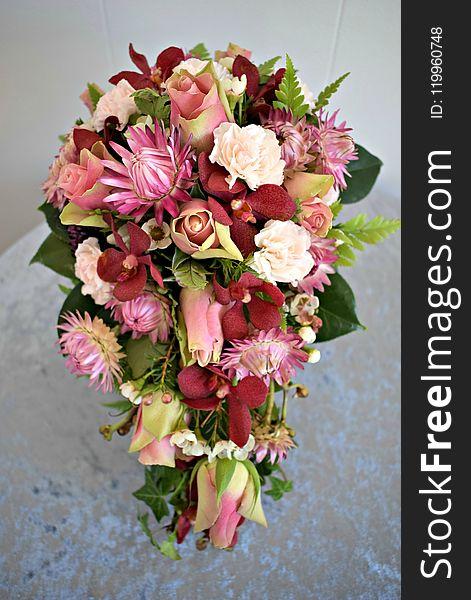 Flower, Flower Bouquet, Flower Arranging, Pink