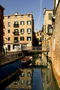 Free Along The Streets Of Venice Royalty Free Stock Photography - 128297