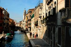 Free Around The Streets Of Venice Stock Photo - 120860