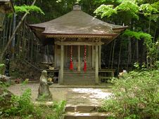 Free Japanese Little Shrine Royalty Free Stock Photo - 122215