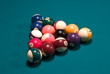 Free Pool Balls Royalty Free Stock Image - 123426