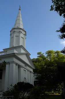 Free Church, Singapore Stock Image - 125021