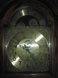 Free Clock Face Royalty Free Stock Photos - 125948