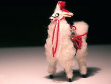 Free Llama Statue Royalty Free Stock Images - 126139
