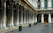 Along San Marco, Venice Stock Images