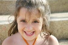 Free Happy Girl Stock Photography - 128342