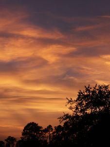 Free Sunset Silhouette Stock Photo - 128620