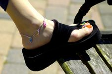Free Womans Shoe Stock Image - 129201