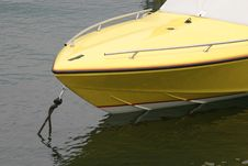 Free Yellow Boat Stock Images - 129234