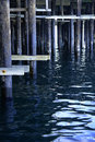 Free Pier Posts Stock Photography - 1204872