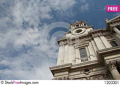 The Mighty St Paul Cathedral, London Stock Photo