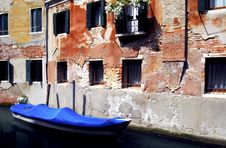 Free Venice - Canal Series Royalty Free Stock Photo - 1201555