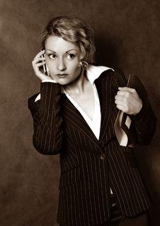 Free Business Woman Stock Photo - 1202160