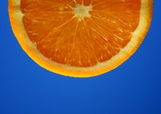 Free Orange Slice Royalty Free Stock Photography - 1202447