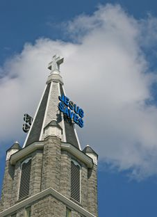 Free Jesus Saves Royalty Free Stock Photography - 1202687