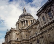 Free The Mighty St Paul Cathedral, London Stock Photos - 1203213