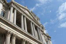 Free The Mighty St Paul Cathedral, London Royalty Free Stock Photos - 1203318