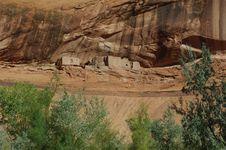 Canyon De Chelly Ruins Stock Photography