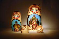 Free Two And A Half Babushkas Stock Photos - 1204153