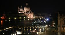 Free Venice At Night Panorama Stock Images - 1204534