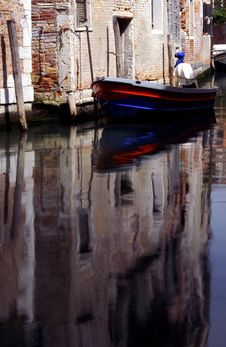 Free Venice - Canal Series Stock Image - 1204591