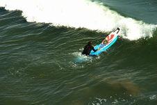 Surfer S Beach Stock Photo