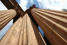 Free Massive Columns Stock Image - 1204961