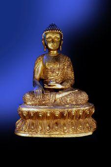 Free Bronze Buddha Stock Images - 1205634