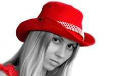 Free Girl In Red Hat Stock Photos - 1206093