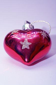 Free Christmas Heart Stock Photo - 1206110