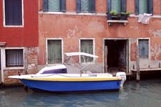 Free Venice - Canal Series Royalty Free Stock Photo - 1206135