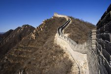 Free The Great Wall Royalty Free Stock Photo - 1207195
