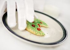 Free Snack For Santa Stock Images - 1208744