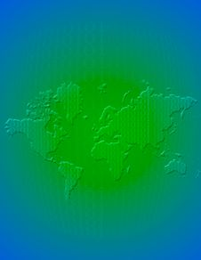 Free Binary Globe Stock Photo - 1208920