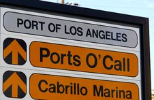 Free Ports O Call Royalty Free Stock Images - 1209799
