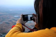 Free Photo Of Woman Taking Picture Stock Image - 120074761