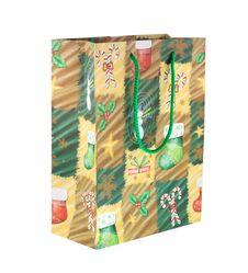 Free Christmas Bag Royalty Free Stock Photography - 12016447