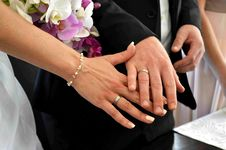 Free Ring, Wedding, Hand, Nail Stock Photos - 120114043