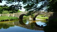 Free Reflection, Waterway, Nature, Bridge Stock Photography - 120114542