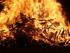 Free Fire, Flame, Bonfire, Wildfire Stock Images - 120114544