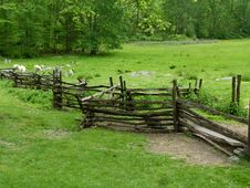 Free Nature Reserve, Pasture, Split Rail Fence, Fence Royalty Free Stock Photos - 120114728