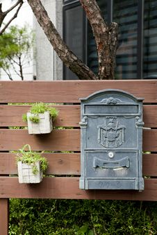 Free Letter Box, Wood, Home, Backyard Stock Photos - 120114763