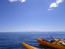Free Sea, Sky, Boat, Kayak Royalty Free Stock Images - 120114859