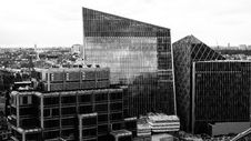 Free Urban Area, Building, Metropolitan Area, Black And White Stock Image - 120114921