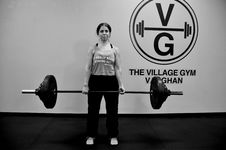 Free Weightlifter, Barbell, Exercise Equipment, Physical Fitness Stock Photos - 120115593