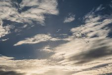 Free Blue Sky With Clouds Stock Images - 120148444