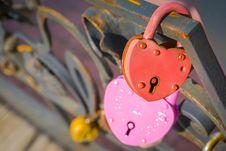 Free Wedding Locks Macro Royalty Free Stock Image - 120149936