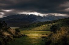 Free Photography Of Mountains Under Cloudy Sky Stock Photography - 120360952
